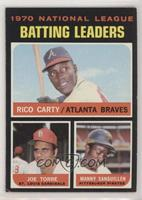 NL Batting Leaders (Rico Carty, Joe Torre, Manny Sanguillen) [Good to …