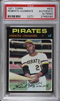 Roberto Clemente [PSA AUTHENTIC ALTERED]
