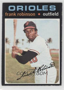 1971 Topps - [Base] #640 - Frank Robinson [Good to VG‑EX]