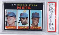 Mets Rookie Stars (Rich Folkers, Ted Martinez, Jon Matlack) [PSA 6.5]
