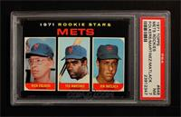 Mets Rookie Stars (Rich Folkers, Ted Martinez, Jon Matlack) [PSA 7]