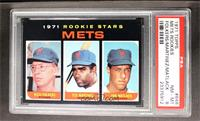 Mets Rookie Stars (Rich Folkers, Ted Martinez, Jon Matlack) [PSA 8]