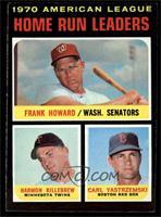 AL Home Run Leaders (Frank Howard, Harmon Killebrew, Carl Yastrzemski) [NM]