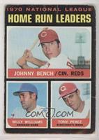 Johnny Bench, Tony Perez, Billy Williams [PoortoFair]