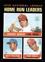 NL Home Run Leaders (Johnny Bench, Tony Perez, Billy Williams) [EXMT+]