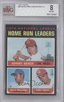 NL Home Run Leaders (Johnny Bench, Tony Perez, Billy Williams) [BVG8…