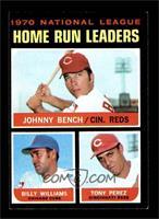 NL Home Run Leaders (Johnny Bench, Tony Perez, Billy Williams) [EXMT]