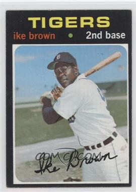 1971 Topps - [Base] #669 - Ike Brown