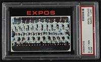 High # - Montreal Expos Team [PSA 8 NM‑MT]