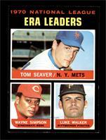 National League ERA Leaders (Tom Seaver, Wayne Simpson, Luke Walker) [EXM…