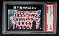 Milwaukee Brewers Team [PSA8]
