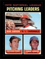 NL Pitching Leaders (Bob Gibson, Gaylord Perry, Fergie Jenkins) [NM]