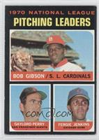 National League Pitching Leaders (Bob Gibson, Gaylord Perry, Fergie Jenkins)