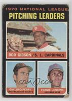 National League Pitching Leaders (Bob Gibson, Gaylord Perry, Fergie Jenkins) [P…