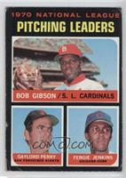 National League Pitching Leaders (Bob Gibson, Gaylord Perry, Fergie Jenkins) [G…