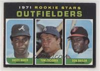 1971 Rookie Stars - Dusty Baker, Tom Paciorek, Don Baylor [Good to VG…
