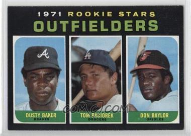 1971 Topps - [Base] #709 - Dusty Baker, Tom Paciorek, Don Baylor