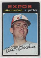 Mike Marshall (Black Line under Right Eye) [Good to VG‑EX]