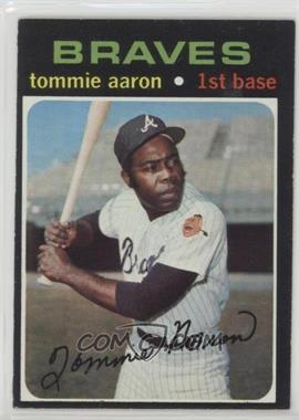 1971 Topps - [Base] #717 - Tommie Aaron