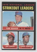 NL Strikeout Leaders (Tom Seaver, Bob Gibson, Fergie Jenkins)