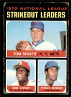 NL Strikeout Leaders (Tom Seaver, Bob Gibson, Fergie Jenkins) [FAIR]