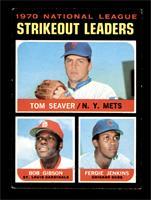 NL Strikeout Leaders (Tom Seaver, Bob Gibson, Fergie Jenkins) [VGEX]