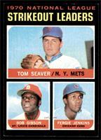 NL Strikeout Leaders (Tom Seaver, Bob Gibson, Fergie Jenkins) [EXMT]