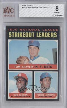 1971 Topps - [Base] #72 - Tom Seaver, Bob Gibson, Fergie Jenkins [BVG8NM‑MT]