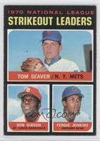 Tom Seaver, Bob Gibson, Fergie Jenkins [Good to VG‑EX]