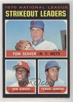 Tom Seaver, Bob Gibson, Fergie Jenkins [Altered]