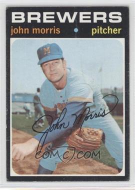 1971 Topps - [Base] #721 - John Morris [GoodtoVG‑EX]