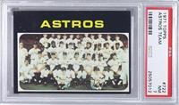 High # - Houston Astros Team [PSA7NM]