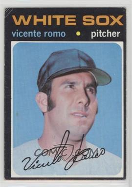 1971 Topps - [Base] #723 - Vicente Romo [GoodtoVG‑EX]