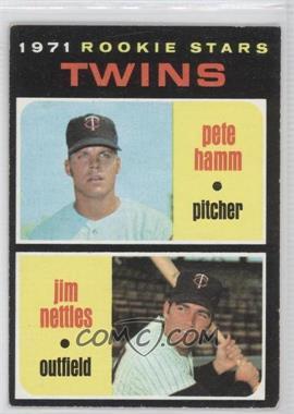 1971 Topps - [Base] #74 - Pete Hamm, Jim Nettles