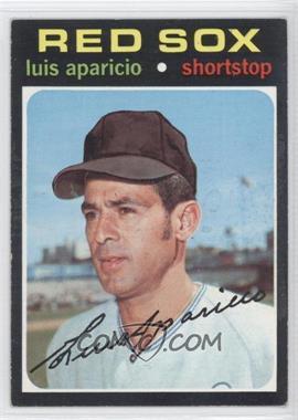 1971 Topps - [Base] #740 - Luis Aparicio