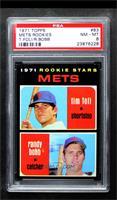 1971 Rookie Stars - Tim Foli, Randy Bobb [PSA8NM‑MT]