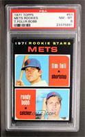 Rookie Stars Mets (Tim Foli, Randy Bobb) [PSA8]