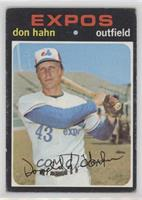 Don Hahn [GoodtoVG‑EX]