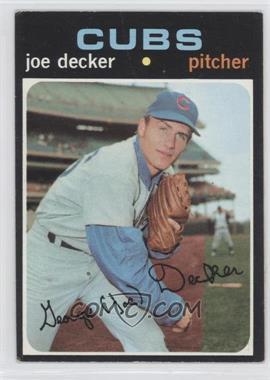 1971 Topps - [Base] #98 - Joe Decker [GoodtoVG‑EX]