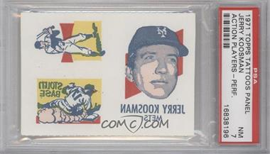 1971 Topps Tattoos - [Base] #JEKO - Jerry Koosman [PSA 7]