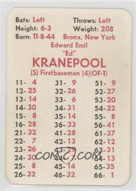 1972 APBA Baseball 1971 Season - [Base] #EDKR - Ed Kranepool