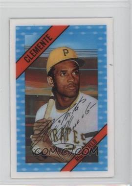 1972 Kellogg's 3-D Super Stars - [Base] #49 - Roberto Clemente