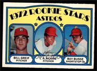 Bill Greif, J.R. Richard, Ray Busse [EX MT]
