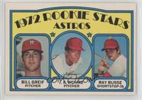 Bill Greif, J.R. Richard, Ray Busse