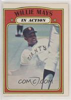 In Action - Willie Mays