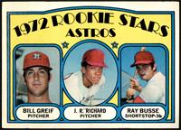Rookie Stars Astros (Bill Greif, J.R. Richard, Ray Busse) [VG+]