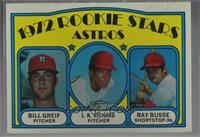 Rookie Stars Astros (Bill Greif, J.R. Richard, Ray Busse) [Good to VG…