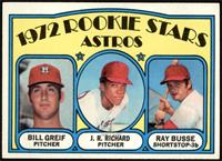 Rookie Stars Astros (Bill Greif, J.R. Richard, Ray Busse) [EX+]