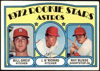 Rookie Stars Astros (Bill Greif, J.R. Richard, Ray Busse) [VGEX]