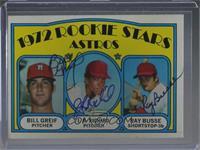 Rookie Stars Astros (Bill Greif, J.R. Richard, Ray Busse) [JSACertified&n…